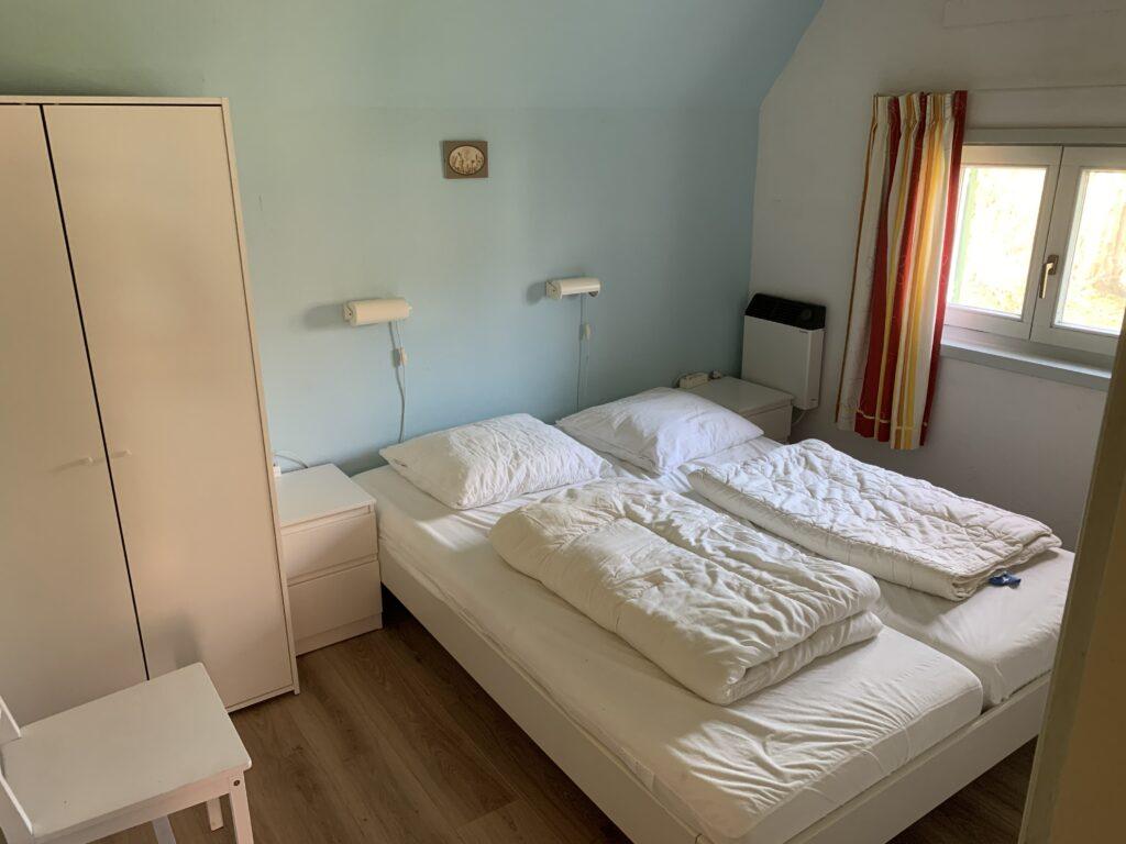 Slaapkamer beneden Lauwersmeer