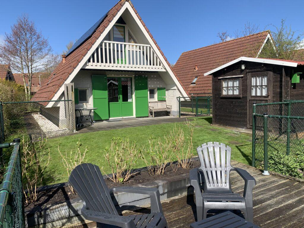 Voorkant huis Lauwersmeer 2