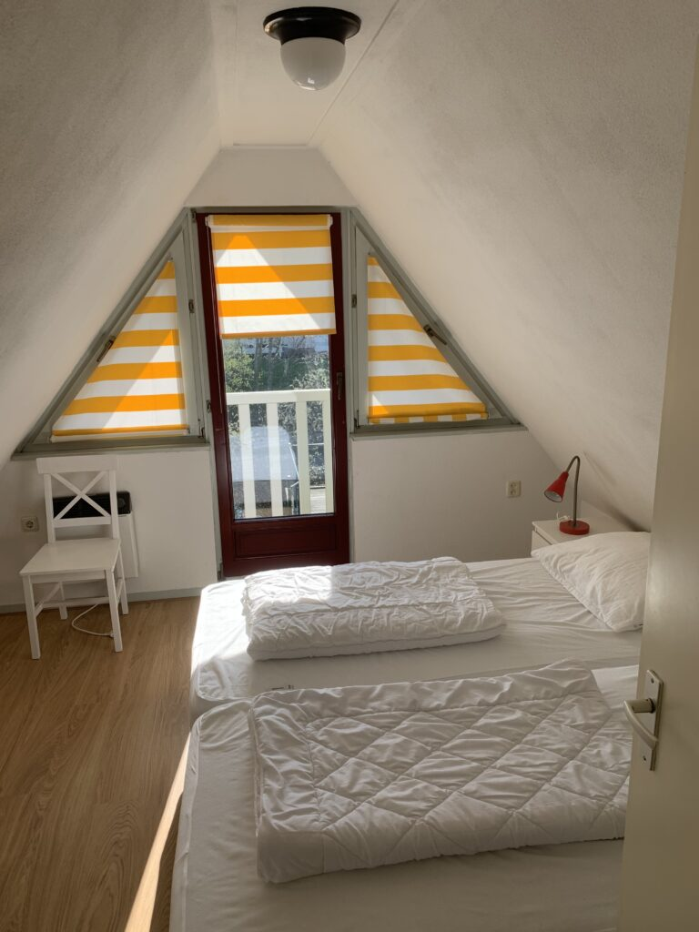 Slaapkamer boven Lauwersmeer